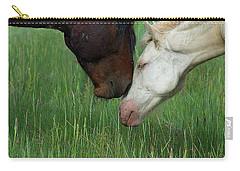 Carry-all Pouch featuring the photograph Forever Wild by Mary Hone