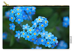 Forget -me-not 5 Carry-all Pouch by Jouko Lehto