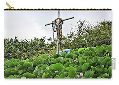 Carry-all Pouch featuring the photograph Forget Me Not by DJ Florek