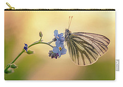 Forget Me Not Carry-all Pouch by Jaroslaw Blaminsky