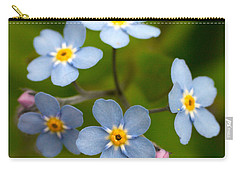 Forget-me-not Carry-all Pouch by Jouko Lehto