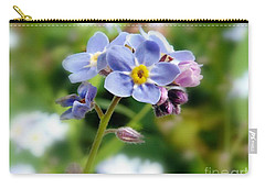 Forget-me-not Carry-all Pouch