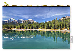 Forget Me Not Pond Panorama Carry-all Pouch