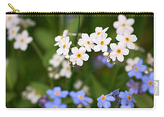 Forget Me Nots Carry-all Pouch by Jouko Lehto