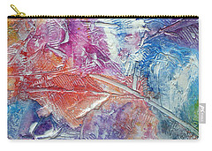 Carry-all Pouch featuring the painting Forgive Quickly by Tracy Bonin