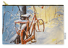 Forgotten Carry-all Pouch by Alan Lakin