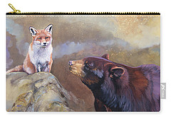 Forgotten Bear Tales Carry-all Pouch