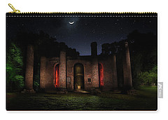 Carry-all Pouch featuring the photograph Forgotten Gods by Mark Andrew Thomas