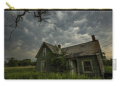 Carry-all Pouch featuring the photograph Forgotten Mammatus  by Aaron J Groen