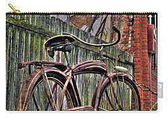 Carry-all Pouch featuring the photograph Forgotten Ride 2 by Jim and Emily Bush