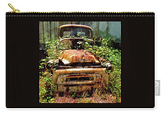Carry-all Pouch featuring the photograph Forgotten by Thom Zehrfeld
