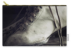 Carry-all Pouch featuring the photograph Forgotten Winter by Amy Weiss