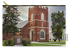 Fork Union Military Academy Wicker Chapel Sized For Blanket Carry-all Pouch