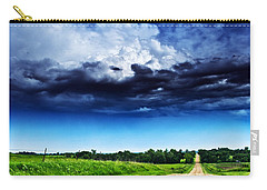 Forming Clouds Over Gravel Carry-all Pouch