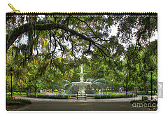 Forsyth Park Fountain Historic Savannah Georgia Carry-all Pouch