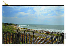Fort Fisher Beach Carry-all Pouch