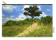 Fort Fisher Beach Tree Carry-all Pouch