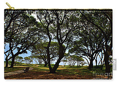 Fort Fisher Beach Trees  Carry-all Pouch