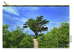 Fort Fisher Hilltop Tree Carry-all Pouch