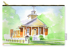Carry-all Pouch featuring the painting Fort Hill Methodist Church 2 by Kip DeVore