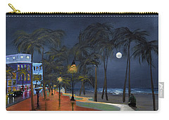 Fort Lauderdale Beach At Night Carry-all Pouch