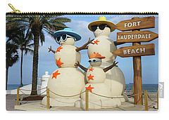 Fort Lauderdale Snowman Carry-all Pouch
