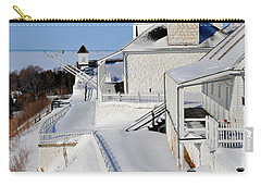 Fort Mackinac Profile Carry-all Pouch