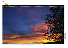 Fort Mohave Arizona Sunset Carry-all Pouch by Glenn DiPaola