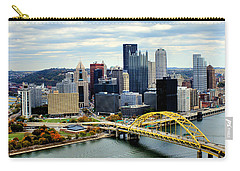 Carry-all Pouch featuring the photograph Fort Pitt Bridge by Michelle Joseph-Long