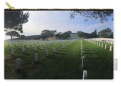 Carry-all Pouch featuring the photograph Fort Rosecrans National Cemetery by Lynn Geoffroy