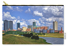 Fort Worth #1 Carry-all Pouch by David and Carol Kelly