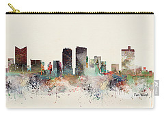 Fort Worth Texas Skyline Carry-all Pouch