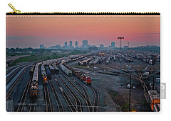 Fort Worth Trainyards Carry-all Pouch