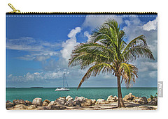Carry-all Pouch featuring the photograph Fort Zachary Taylor State Park - Find Paradise In Key West Florida  by Bob Slitzan