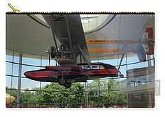 Carry-all Pouch featuring the photograph Fortaleza Hall, Spirit Of Carnauba by Mark Czerniec