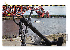 Carry-all Pouch featuring the photograph Forth Bridge by Jeremy Lavender Photography