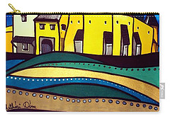 Fortified Medieval Church In Transylvania By Dora Hathazi Mendes Carry-all Pouch