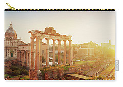 Forum - Roman Ruins In Rome At Sunrise Carry-all Pouch