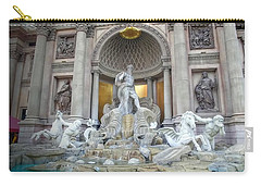 Forum Shops Statues At Ceasars Palace Carry-all Pouch