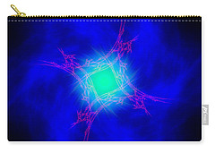 Carry-all Pouch featuring the digital art Forwardons by Andrew Kotlinski