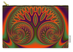 Carry-all Pouch featuring the digital art Fosseshold by Andrew Kotlinski