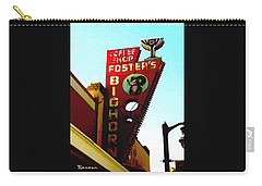 Foster's Bighorn Cafe Carry-all Pouch by Sadie Reneau