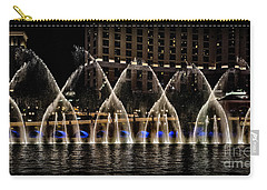 Fountain At Bellagio 4 Carry-all Pouch
