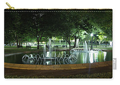 Fountain At Night Carry-all Pouch