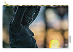 Carry-all Pouch featuring the photograph Fountain At Sunset Alameda Apodaca Cadiz Spain by Pablo Avanzini