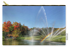 Fountain At Tater Hill Carry-all Pouch