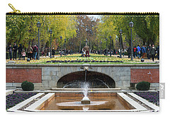 fountain in Buen Retiro  Carry-all Pouch