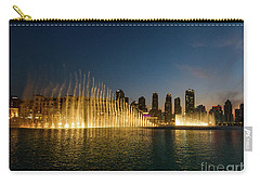 Fountains At Dusk Carry-all Pouch