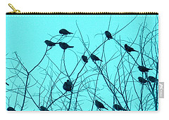 Four And Twenty Blackbirds Carry-all Pouch