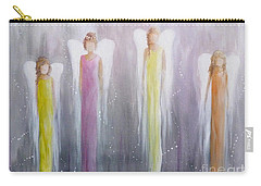 Four Angels Carry-all Pouch